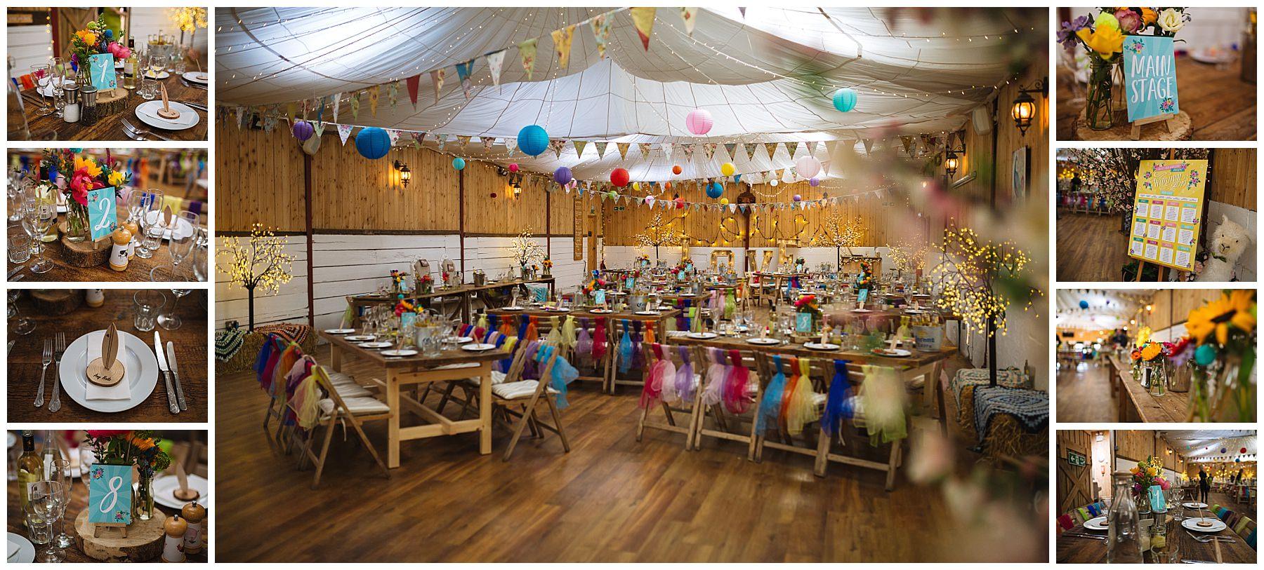 rustic barn wedding venue decoration inspiration