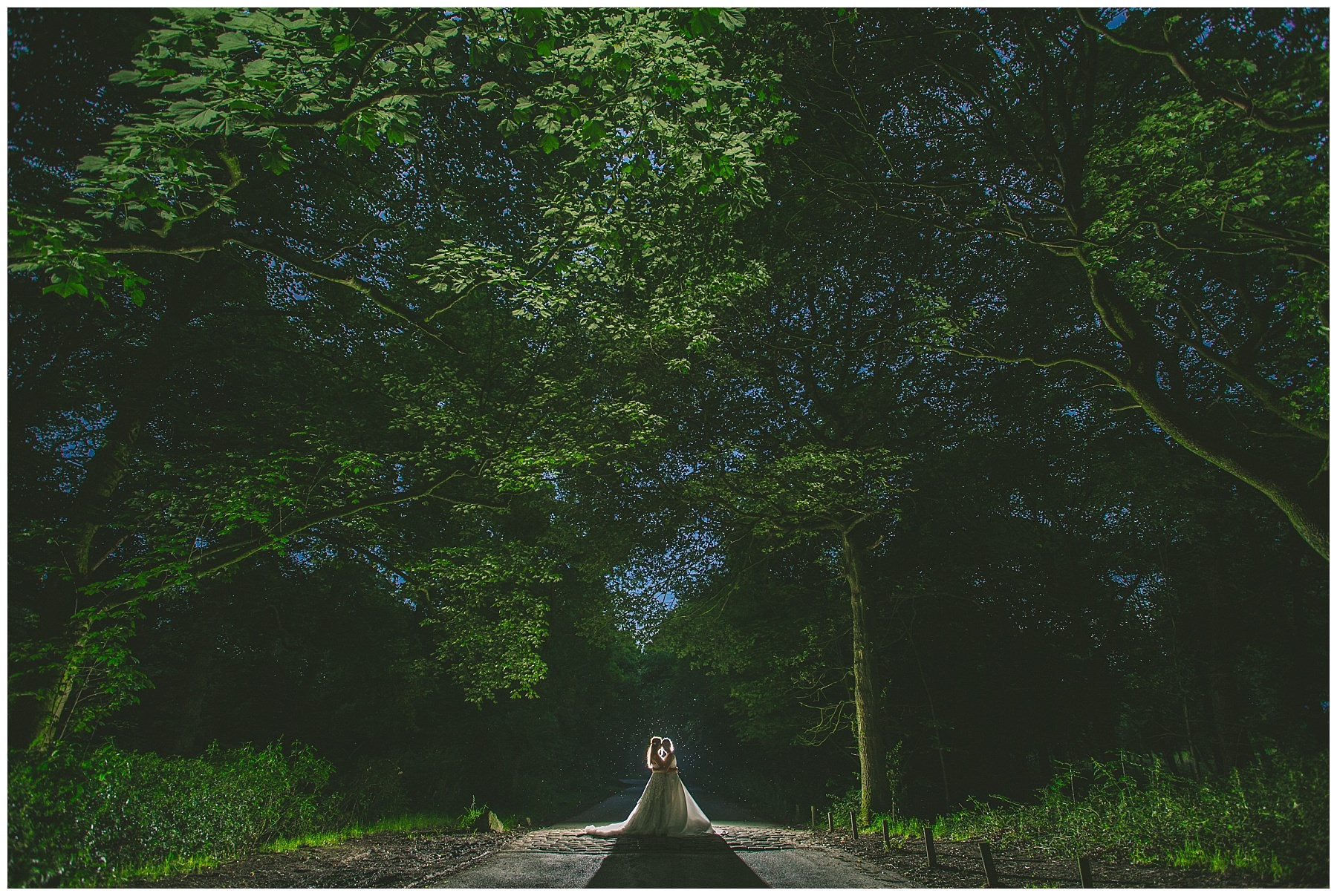 Creative wedding photography at rivington barn