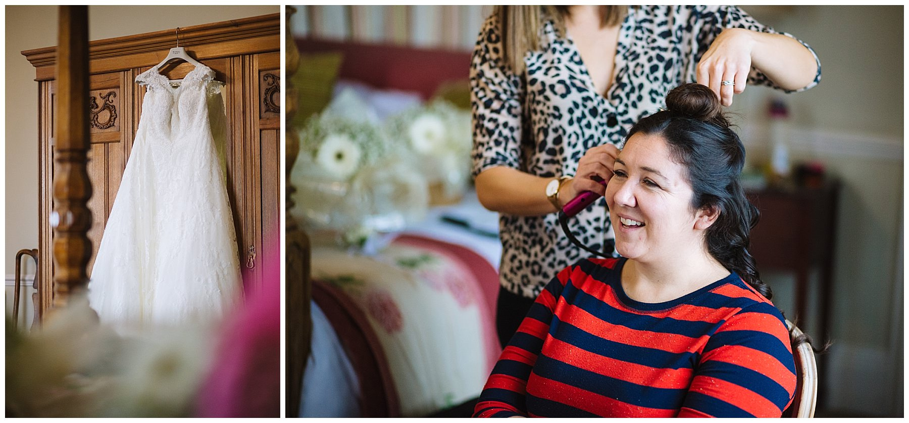 willington hall hotel wedding bridal prep