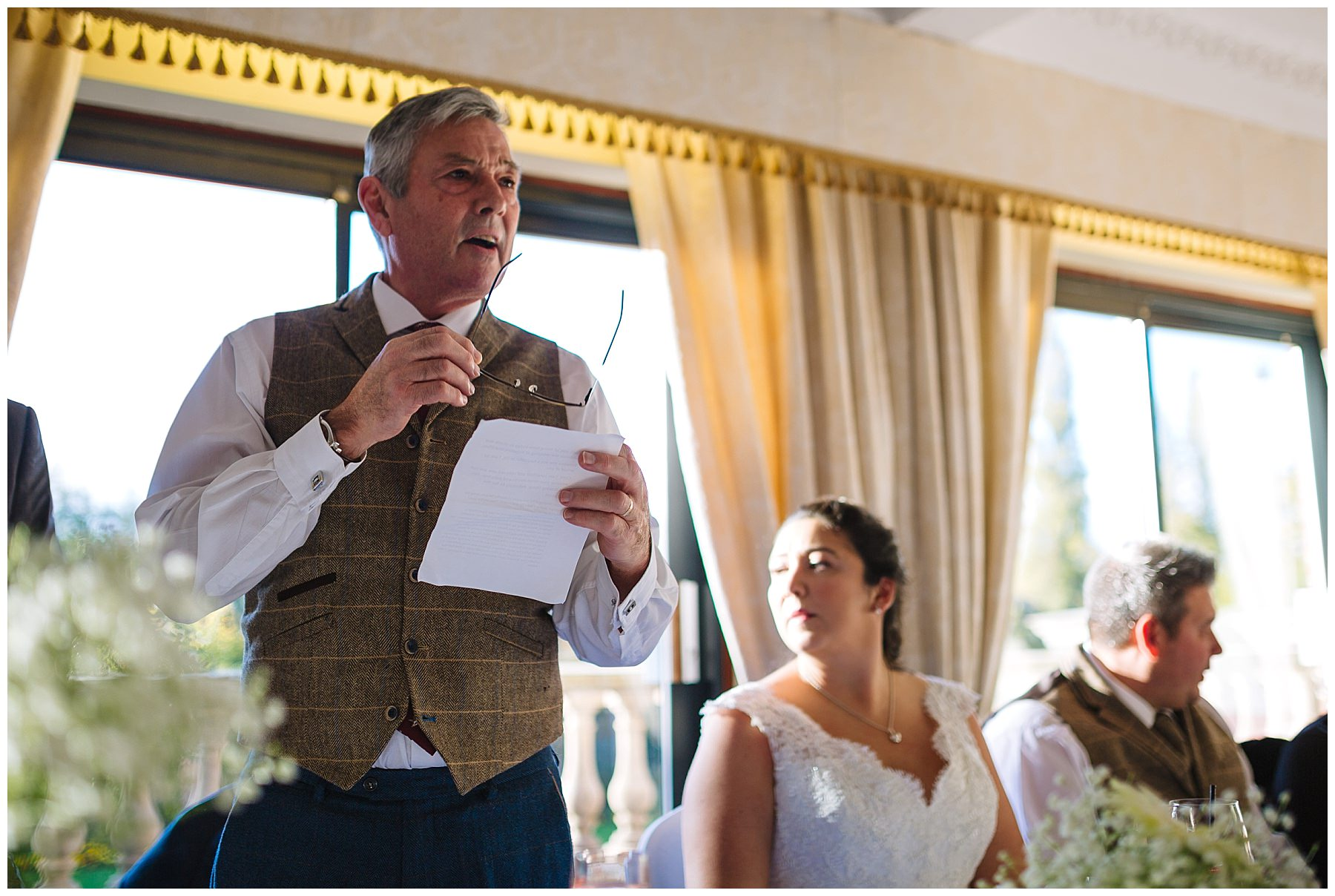 father of the bride speech at willington hall hotel