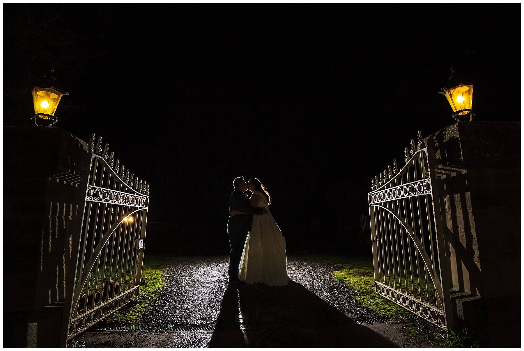 creative wedding photography at willington hall hotel