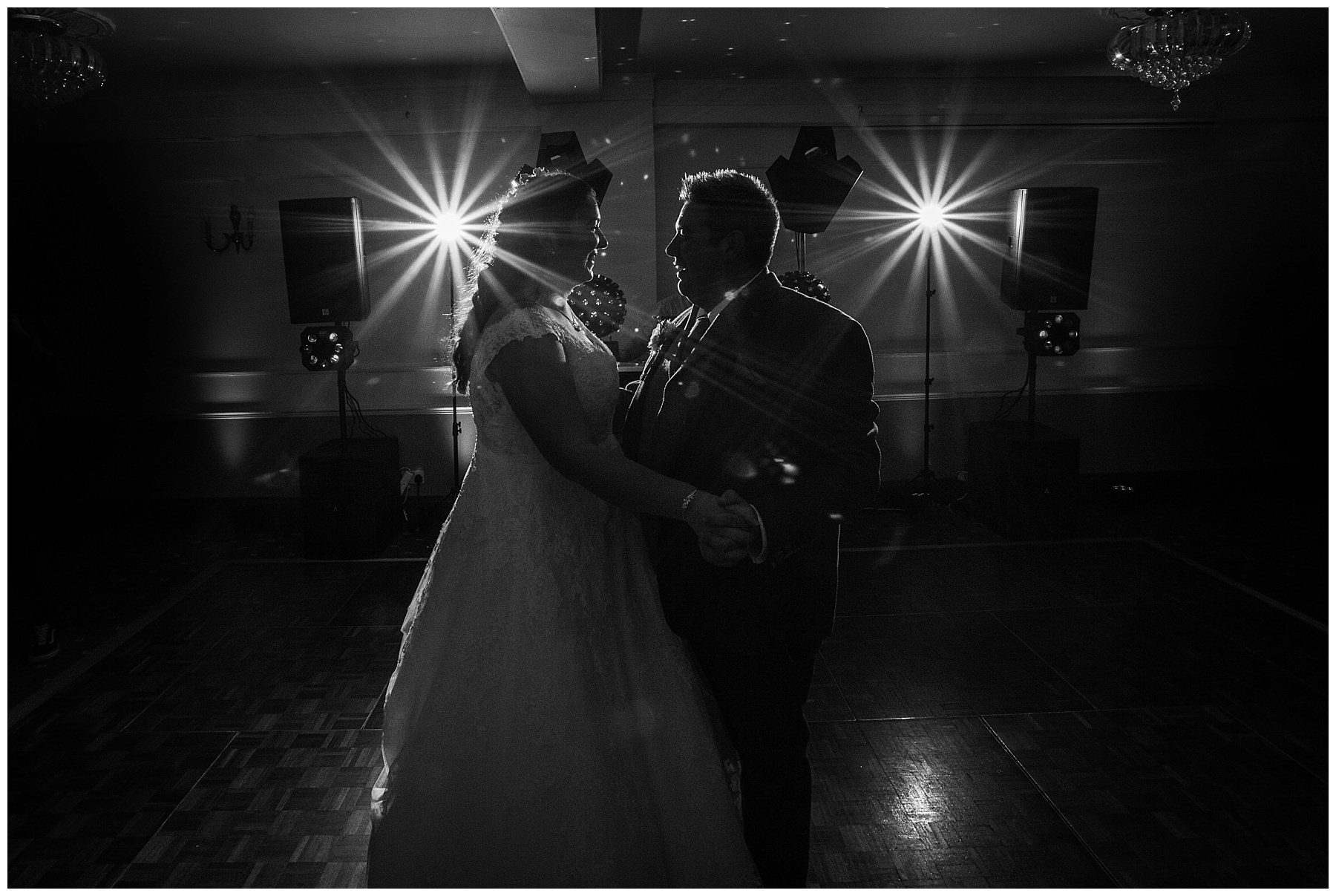 Bride and Groom first dance at willington hall