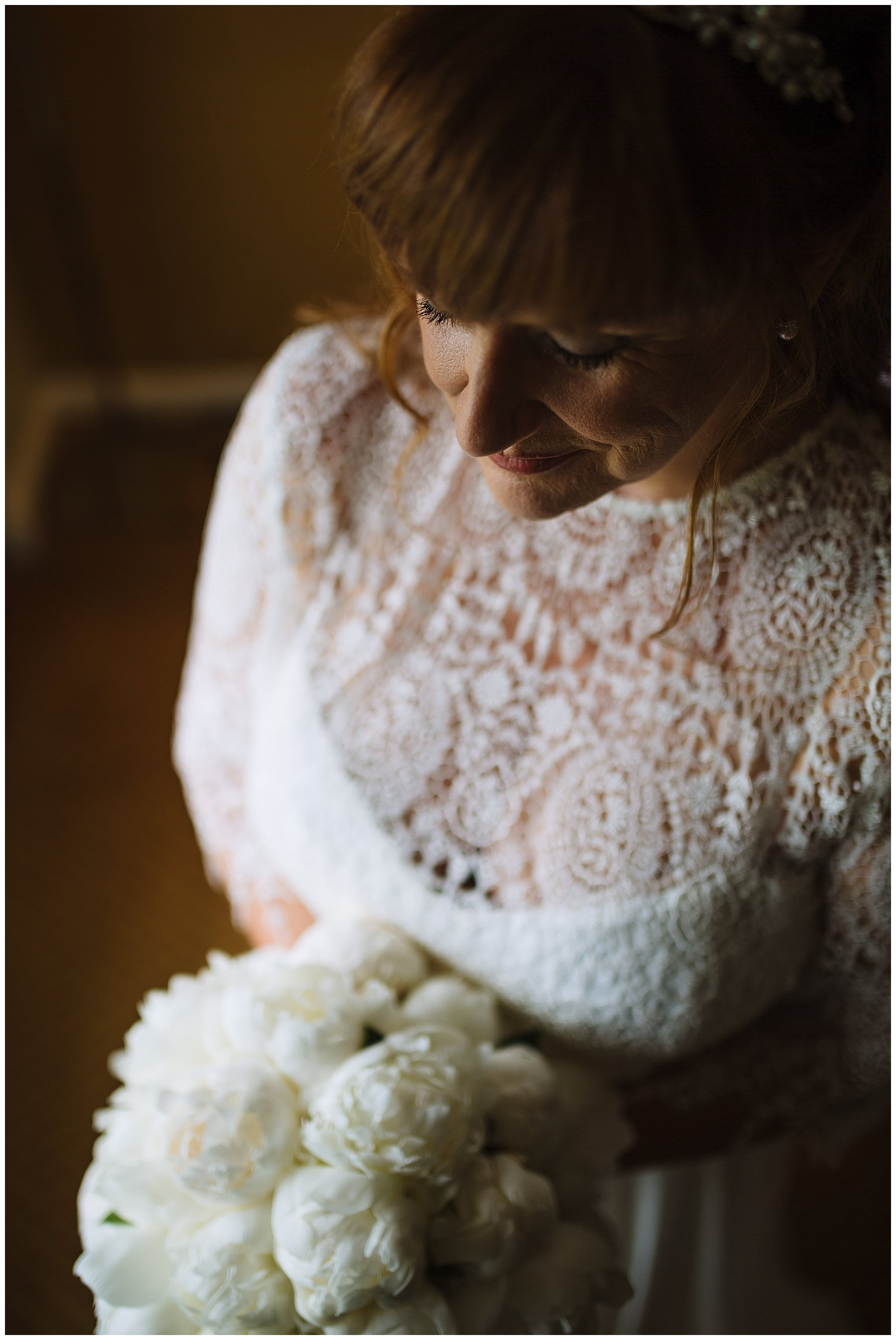 beautiful bridal portrait before northumberland wedding