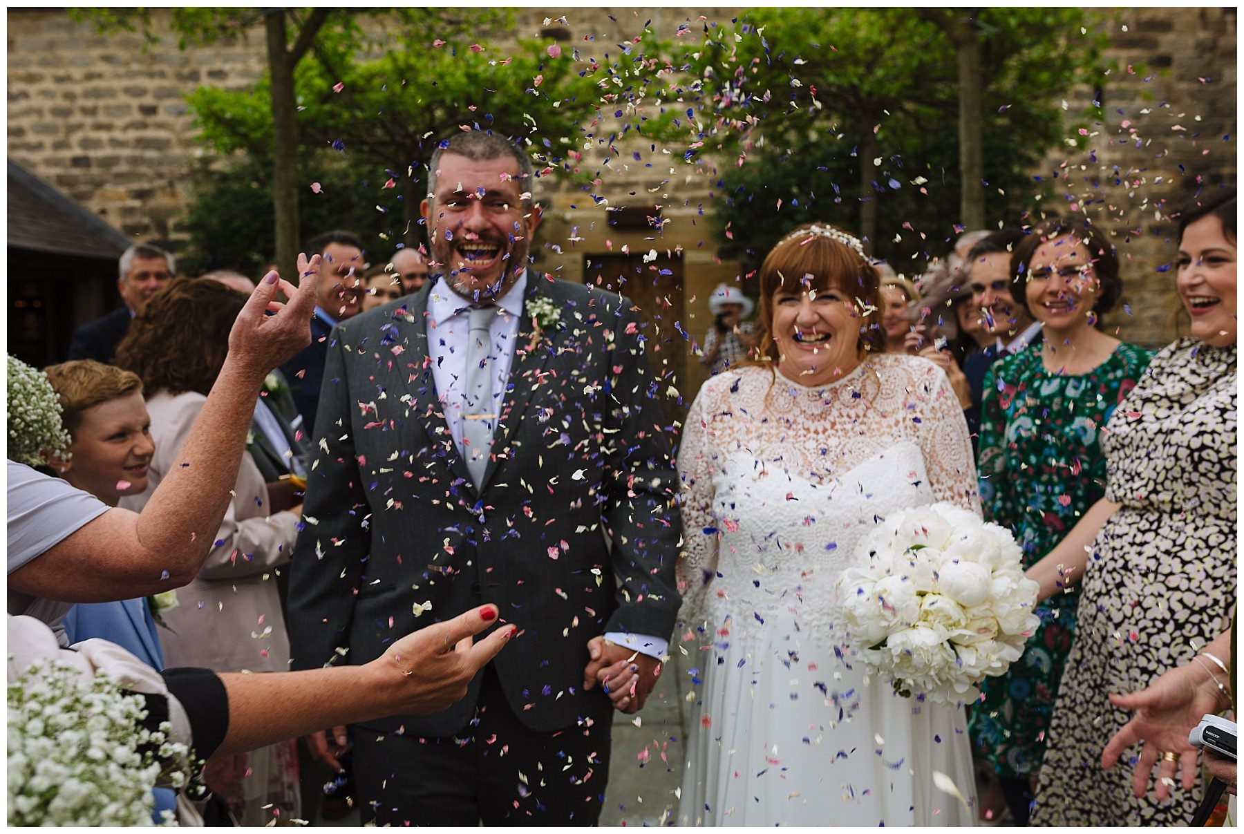 Healey Barn Wedding Confetti