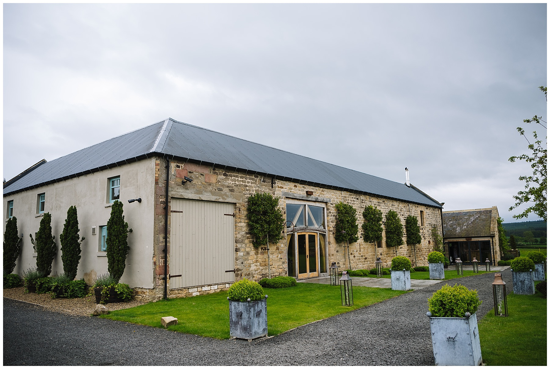 Healey Barn Northumberland wedding venue
