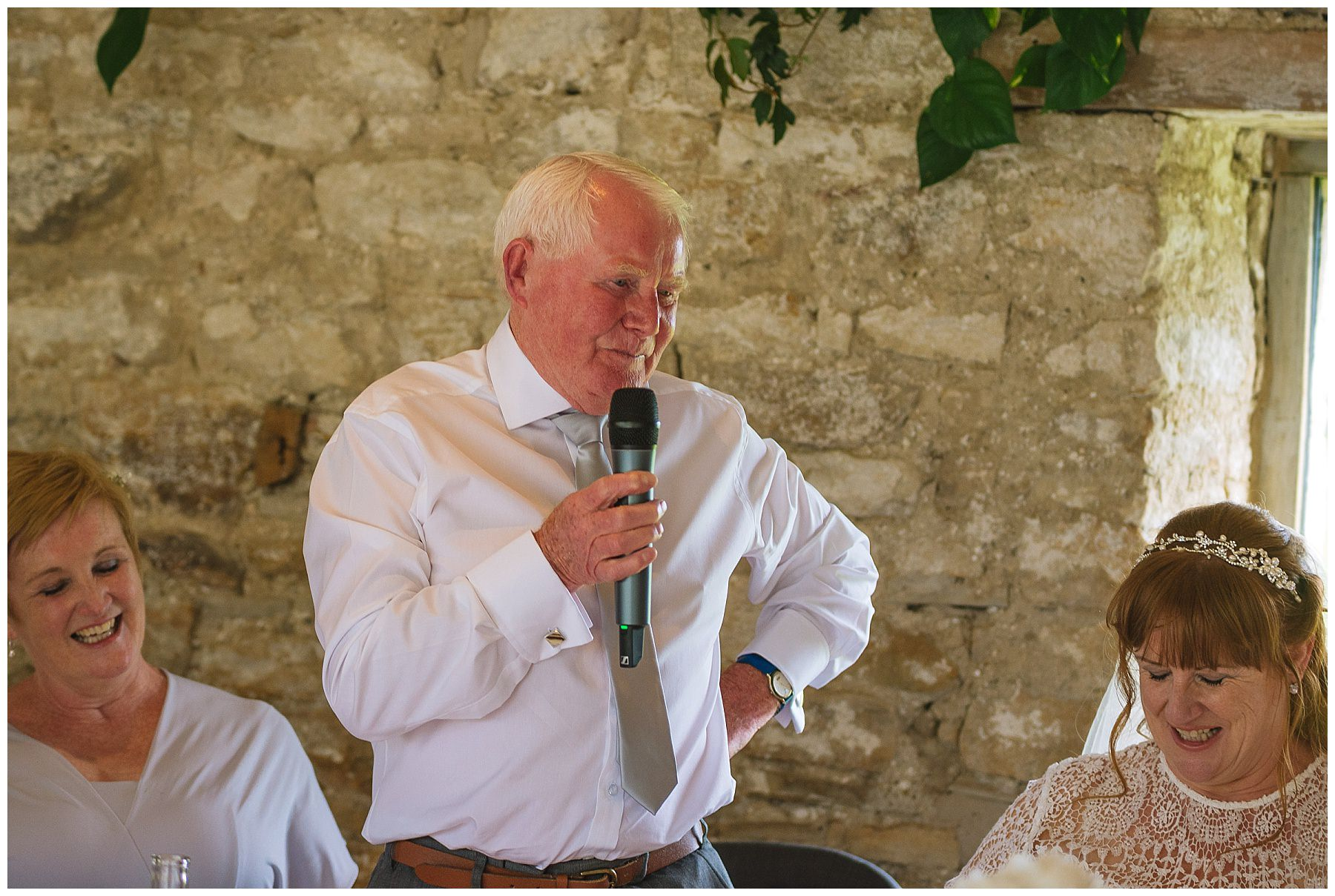 Father of the bride speech at Healey Barn
