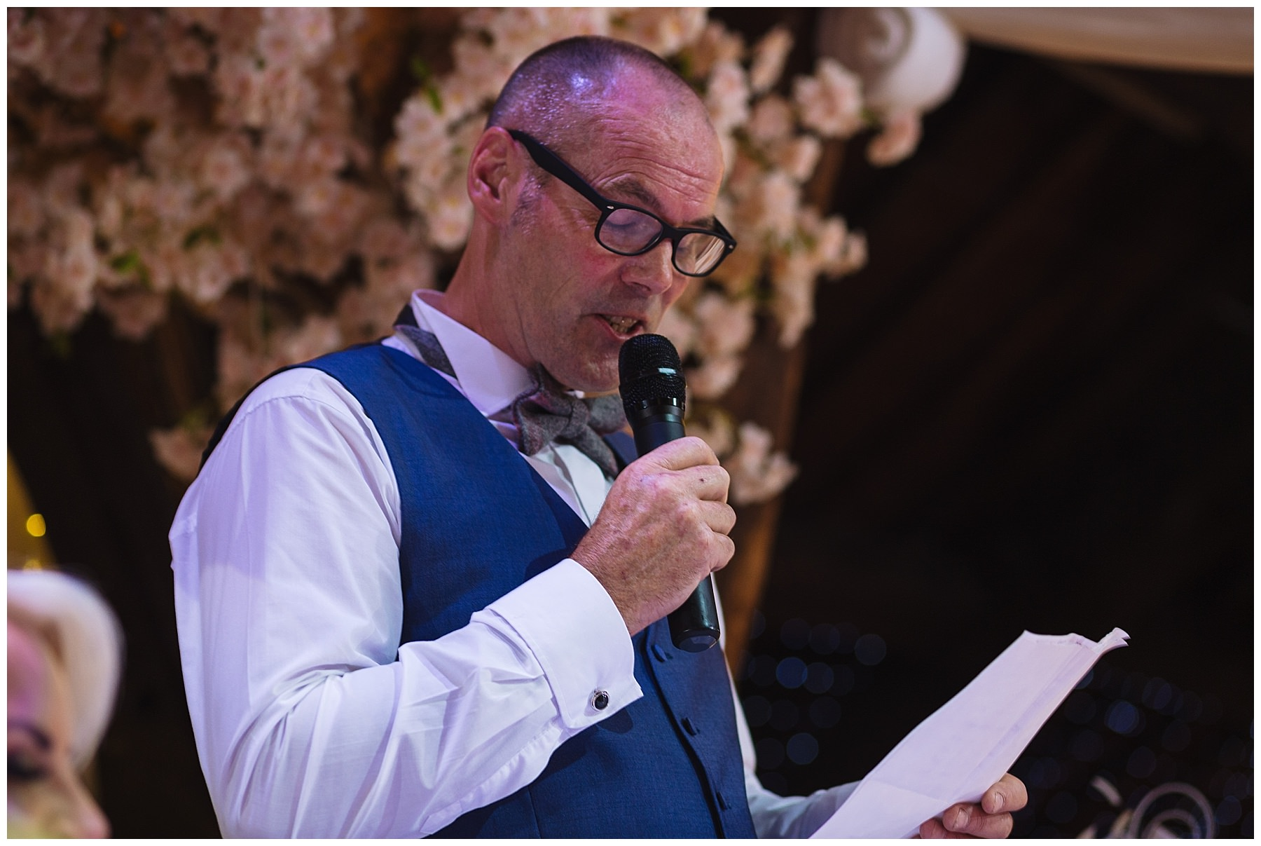 Father of the brides speech at rivington barn