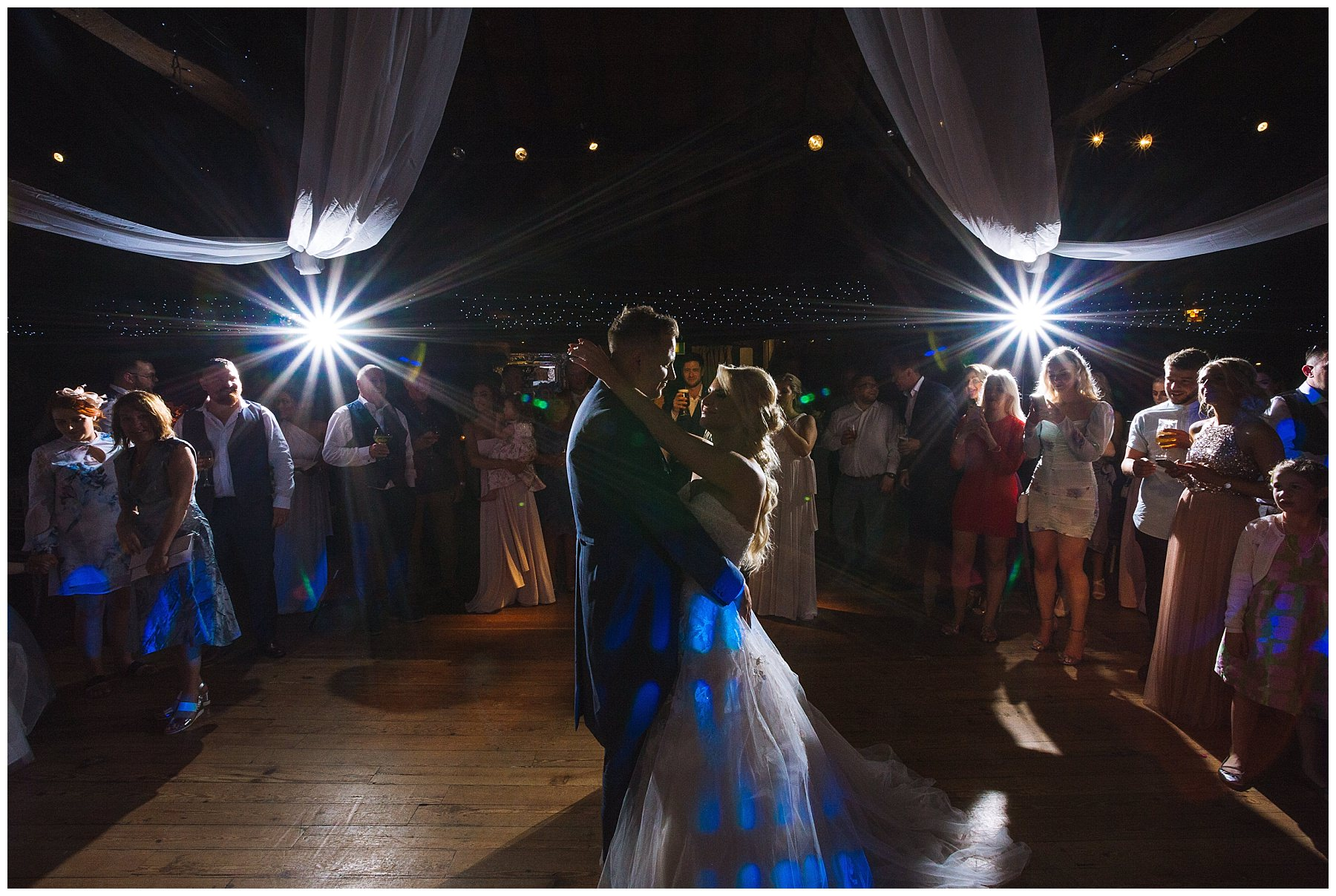 Rivington Barn Wedding first dance