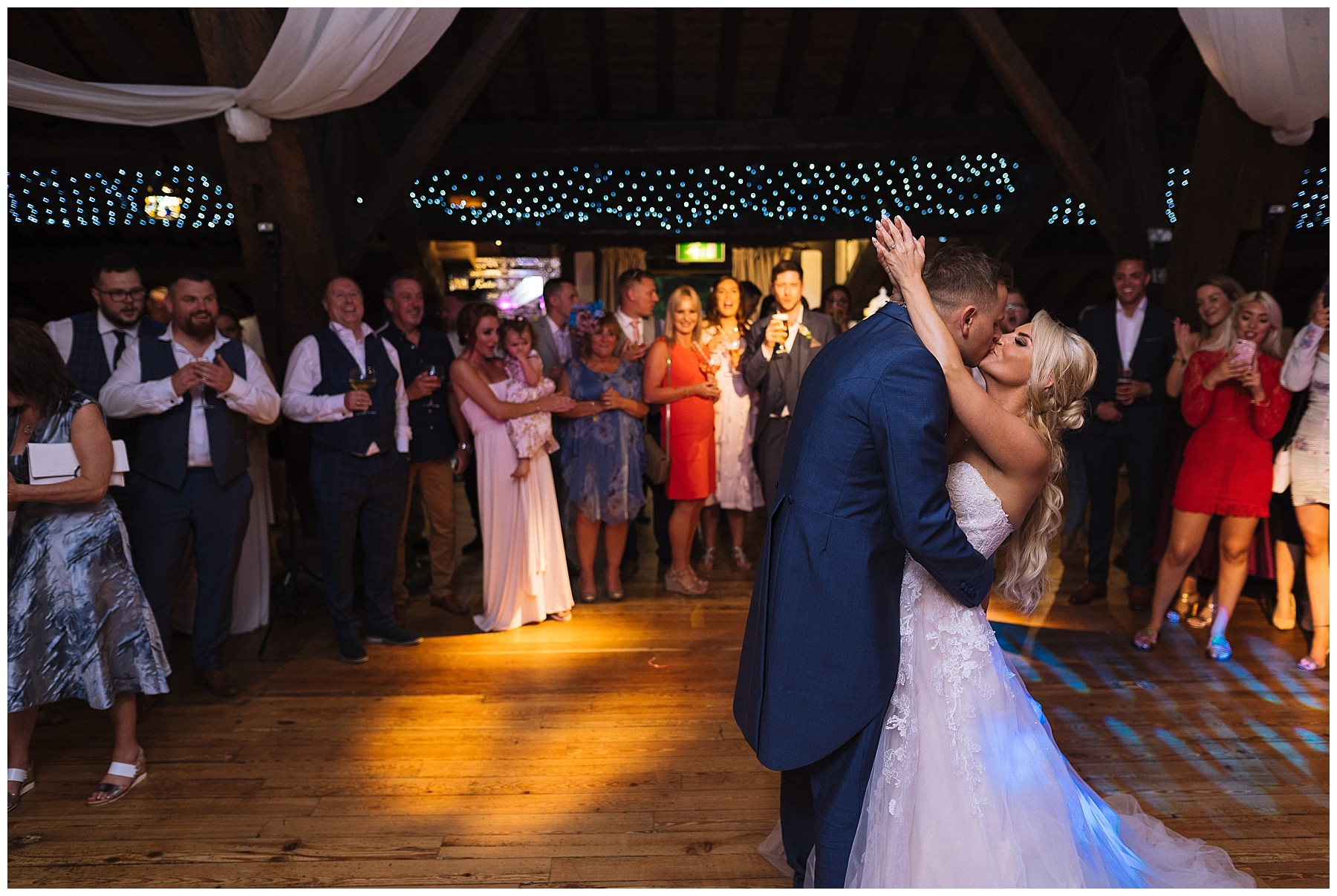 Rivington Hall Barn Wedding First Dance