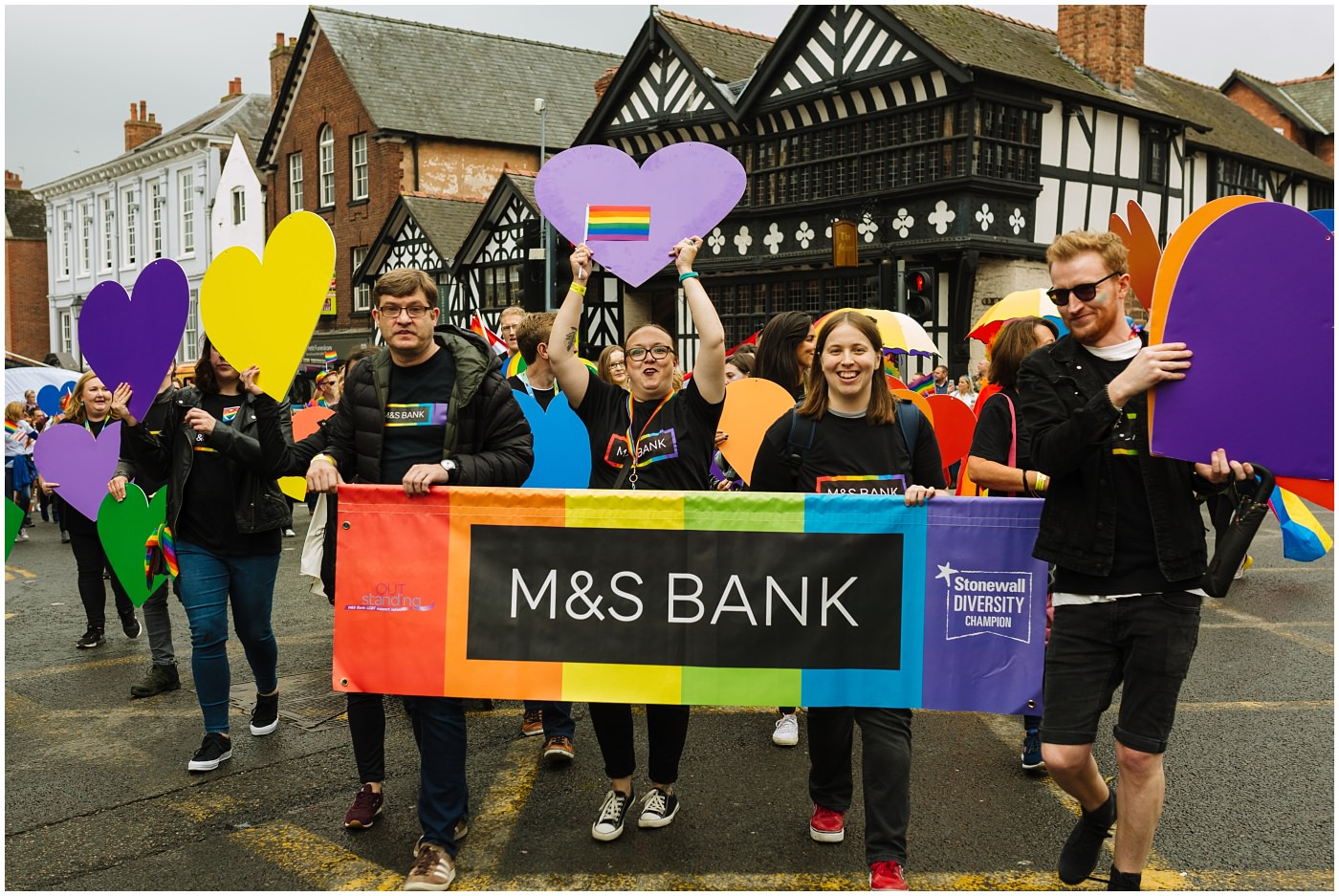 Chester Pride 2019 main sponsor M&S Bank