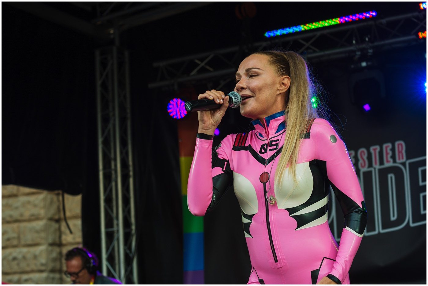 Whigfield at Chester Pride 2019