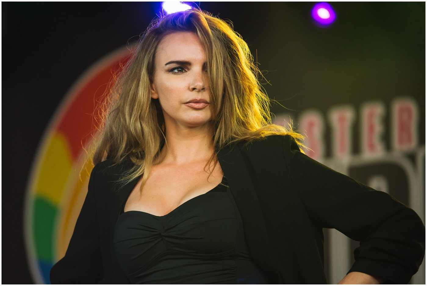 Nadine Coyle of Girls Aloud at Chester Pride