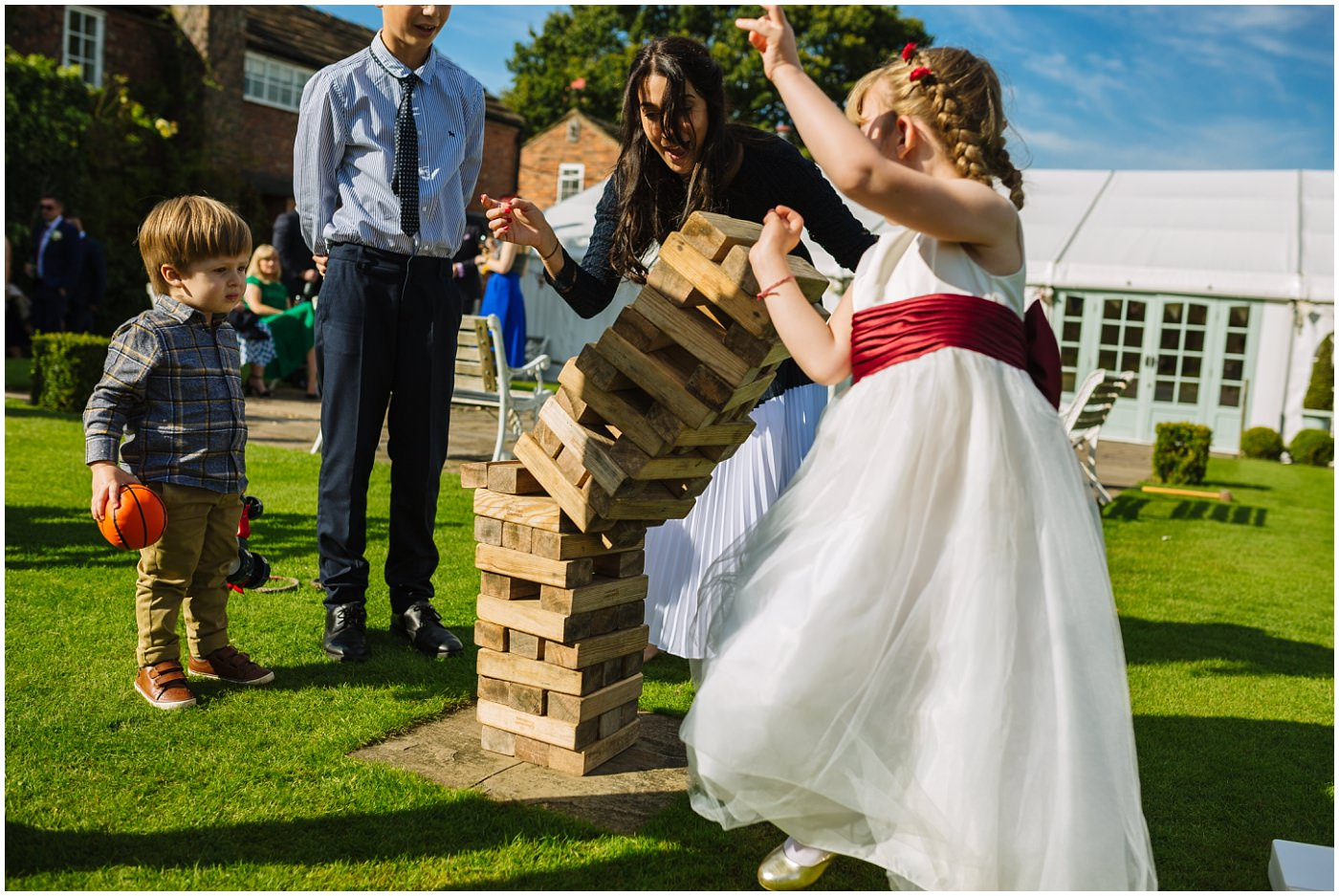 garden games at hiltop country house