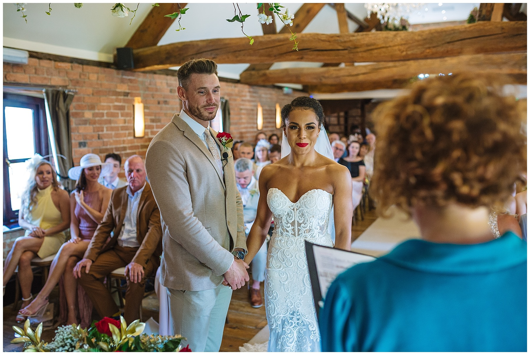 swancar farm wedding ceremony