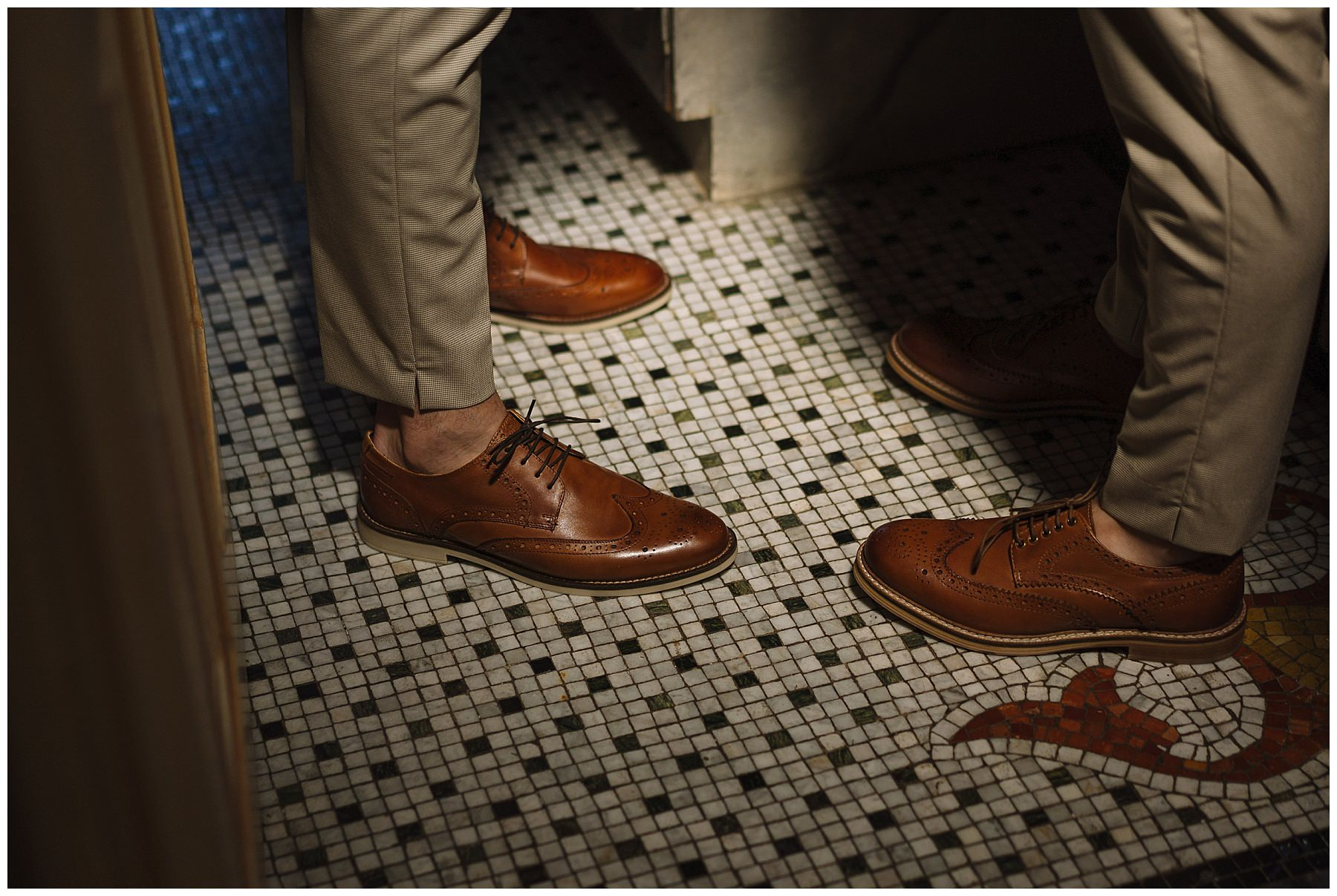 brown brogues groom shoe inspitration