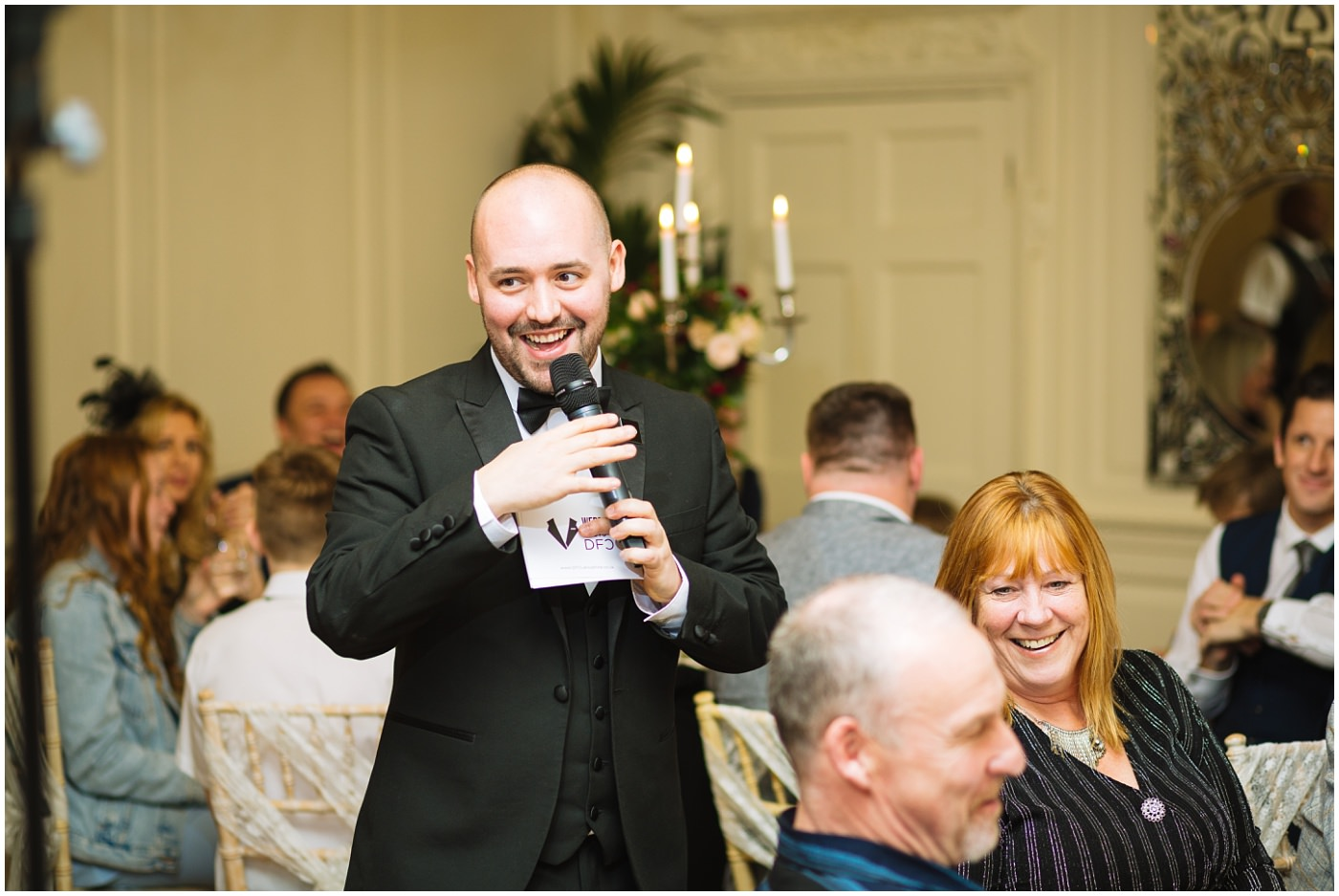 DFC Lancashire wedding host Chris starts wedding games