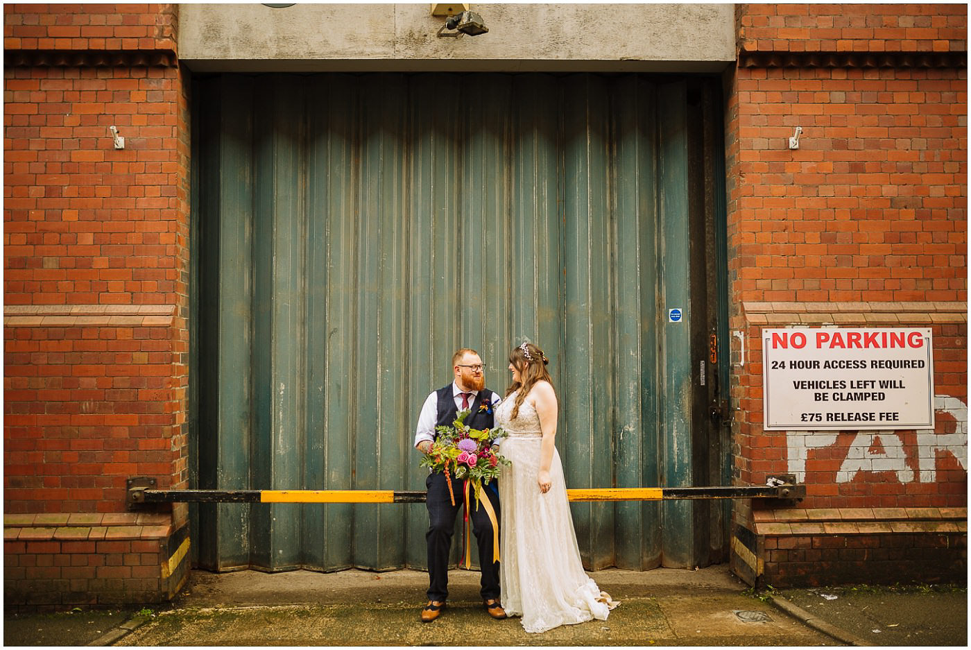 Manchester City Centre Urban Wedding Inspiration