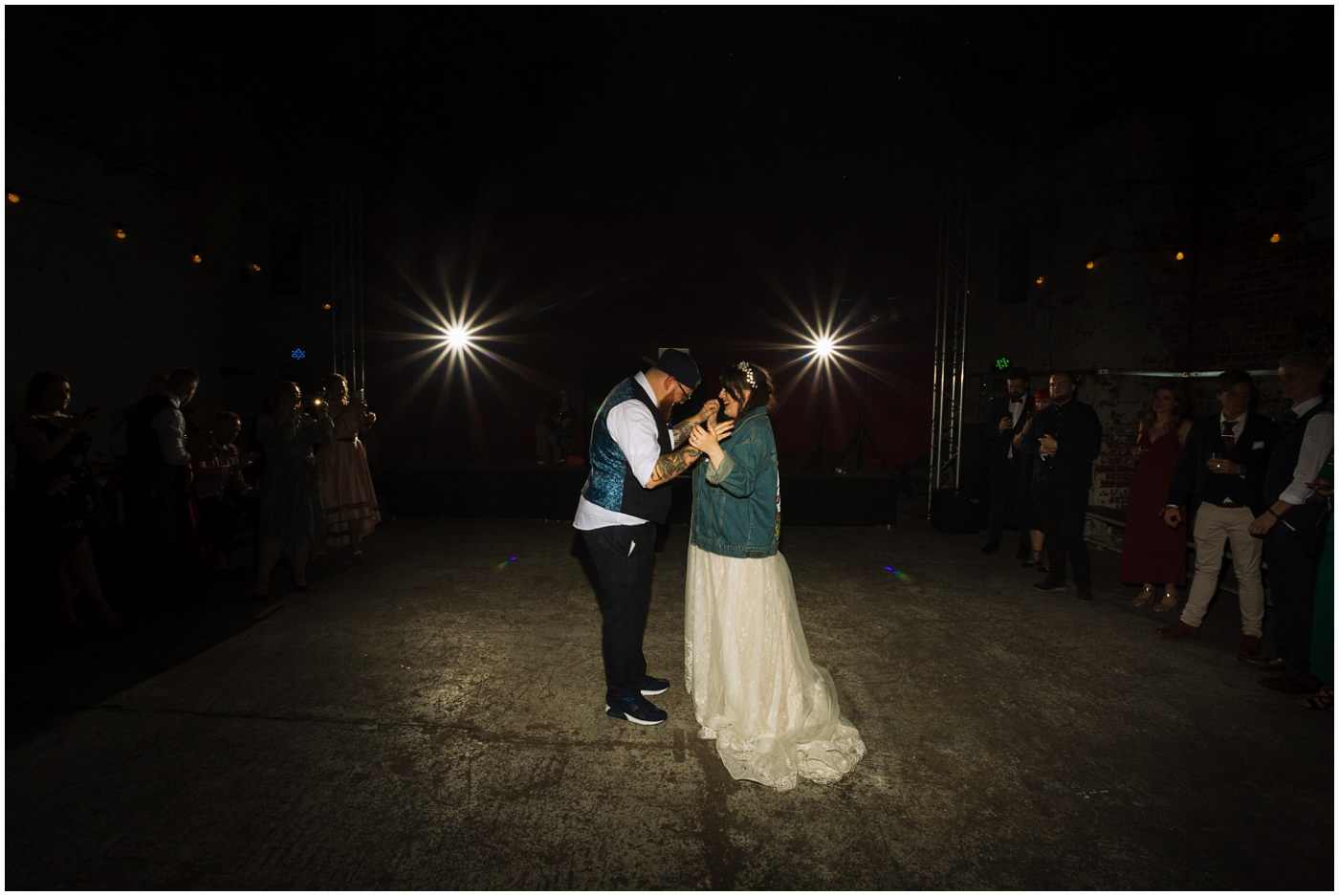 First dance at Urban Manchester Wedding Venue