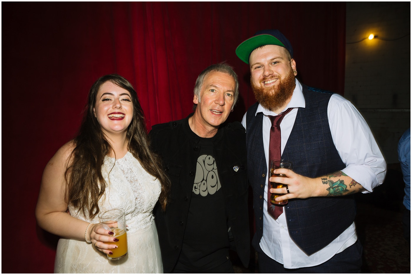 Clint Boon at Manchester Alternative Wedding
