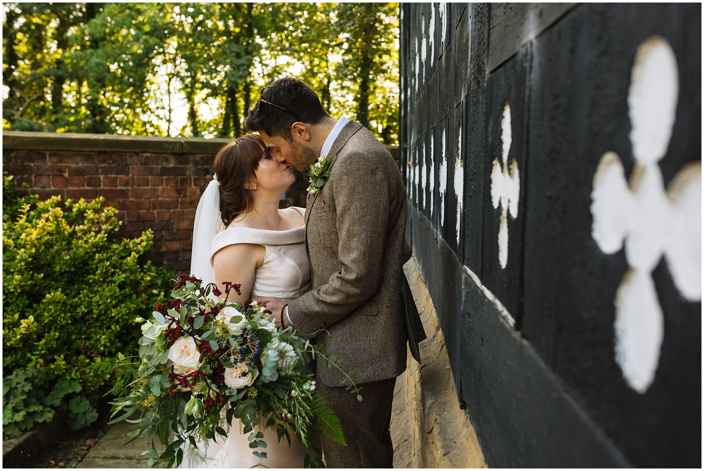 beautiful wedding couples photos at samlesbury hall