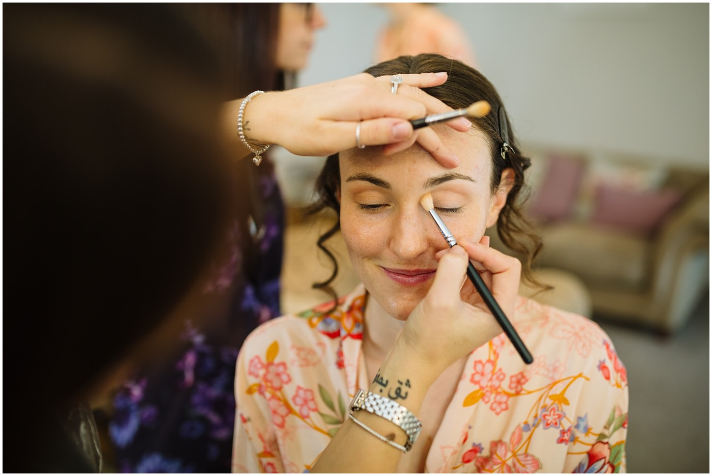 sandhole oak barn bridal make up