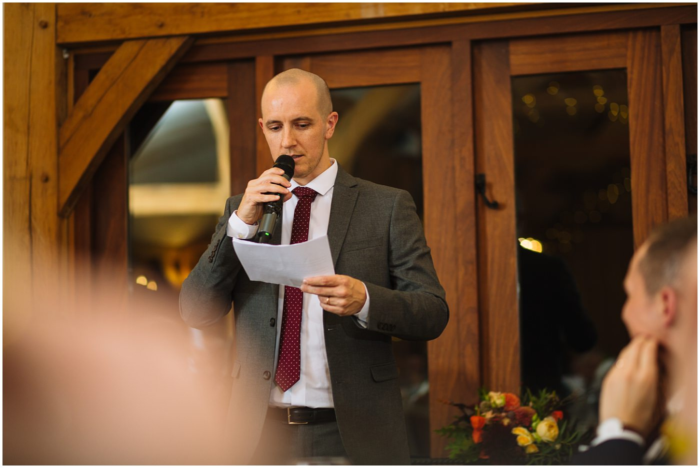 sandhole oak barn best mans speech
