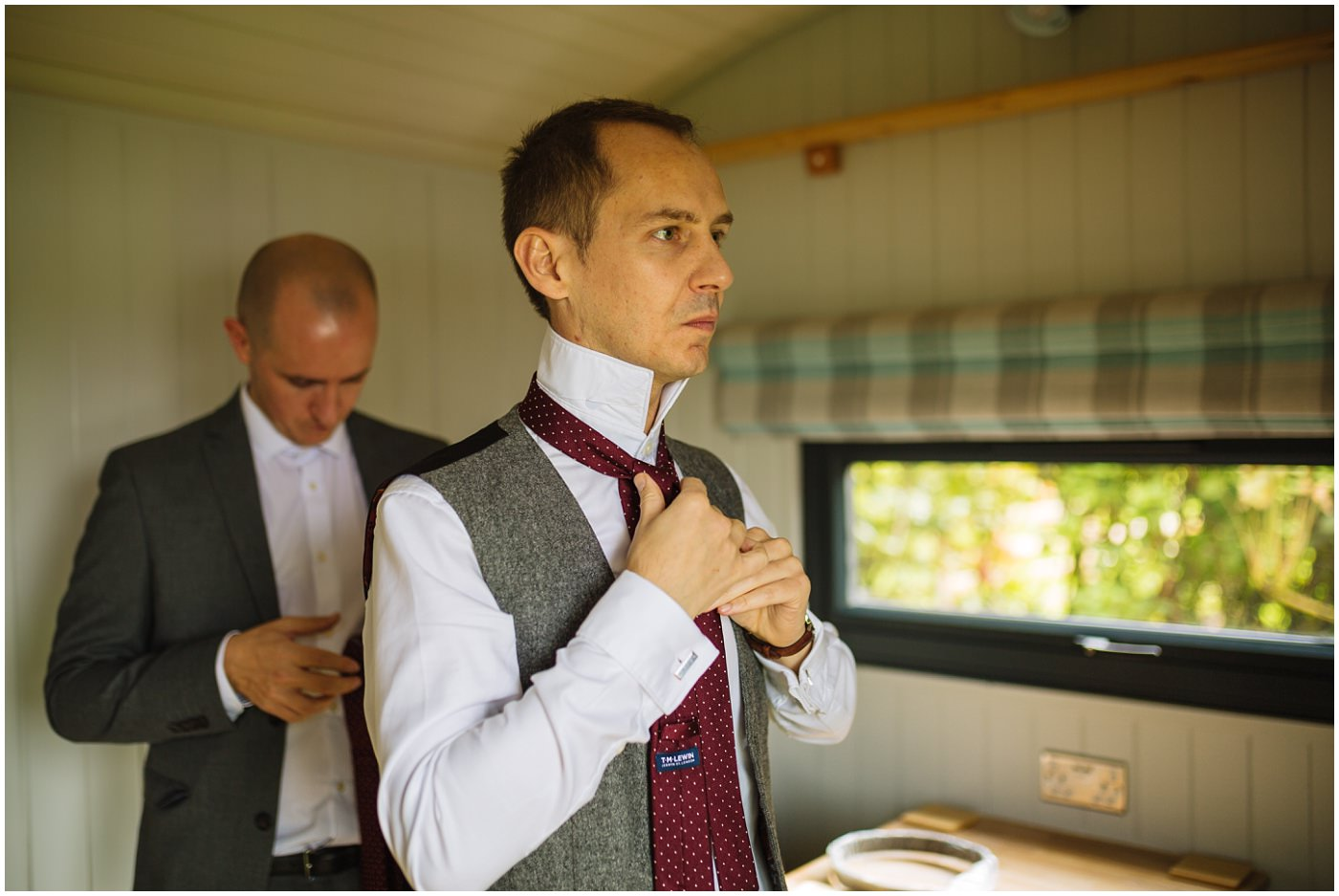 groom prep at sandhole oak barn