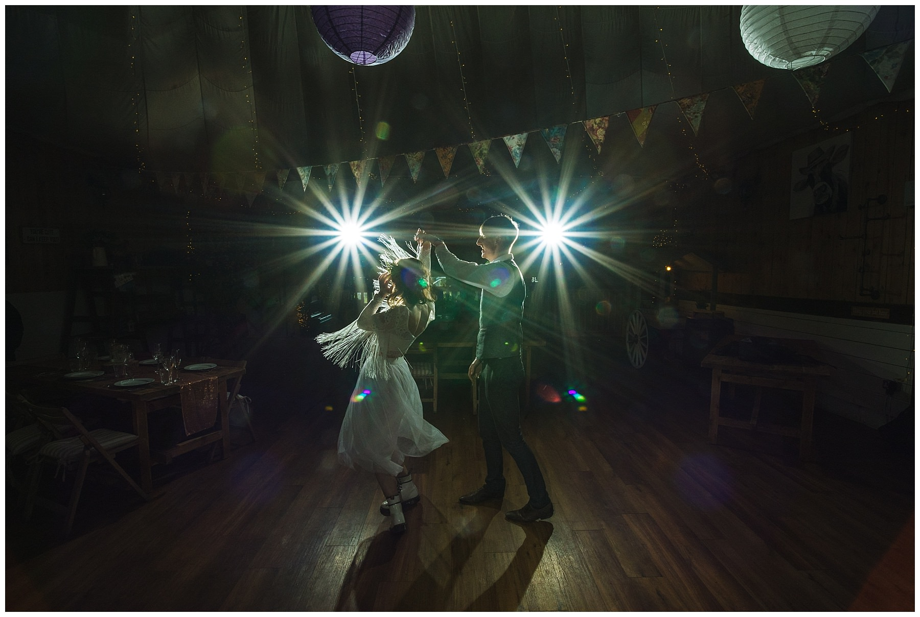 First dance and party at the wellbeing farm in bolton