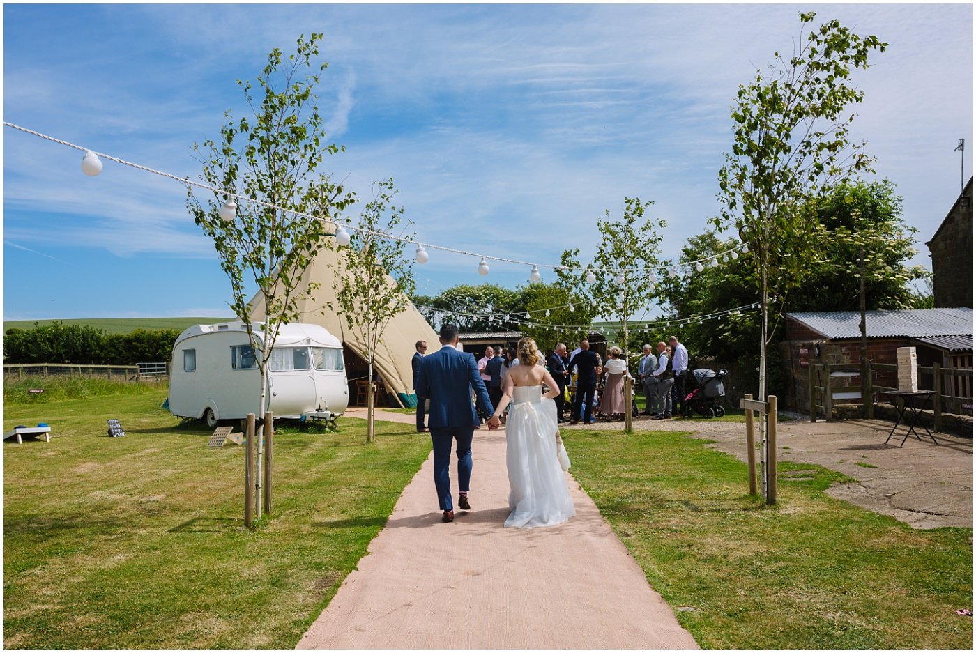 wildwood and eden festival tipi wedding