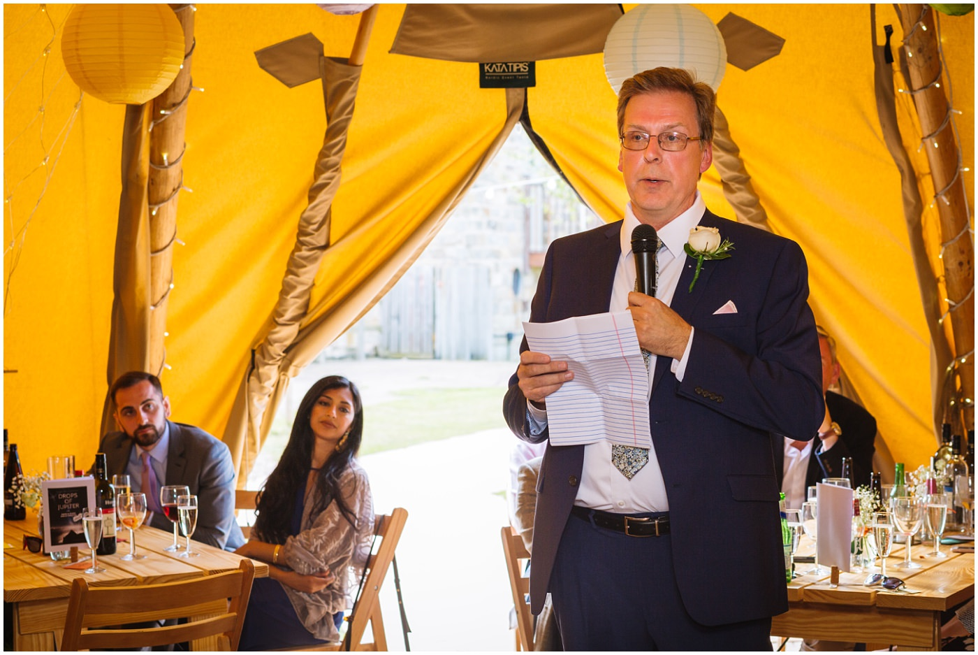 father of the bride speech at tipi wedding