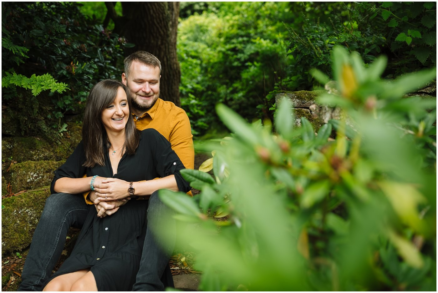 Engagement Shoot at Arley Hall